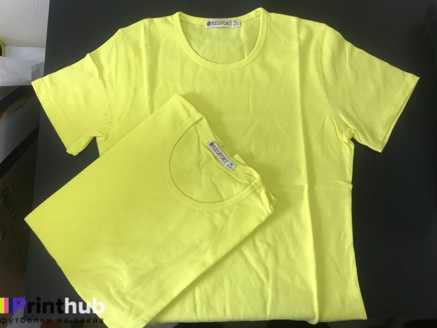 Женская лимонная футболка