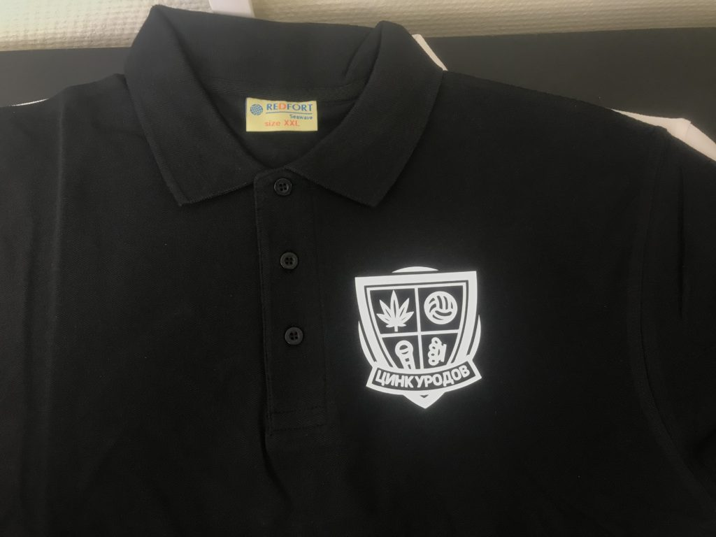 Рубашка-поло с логотипом