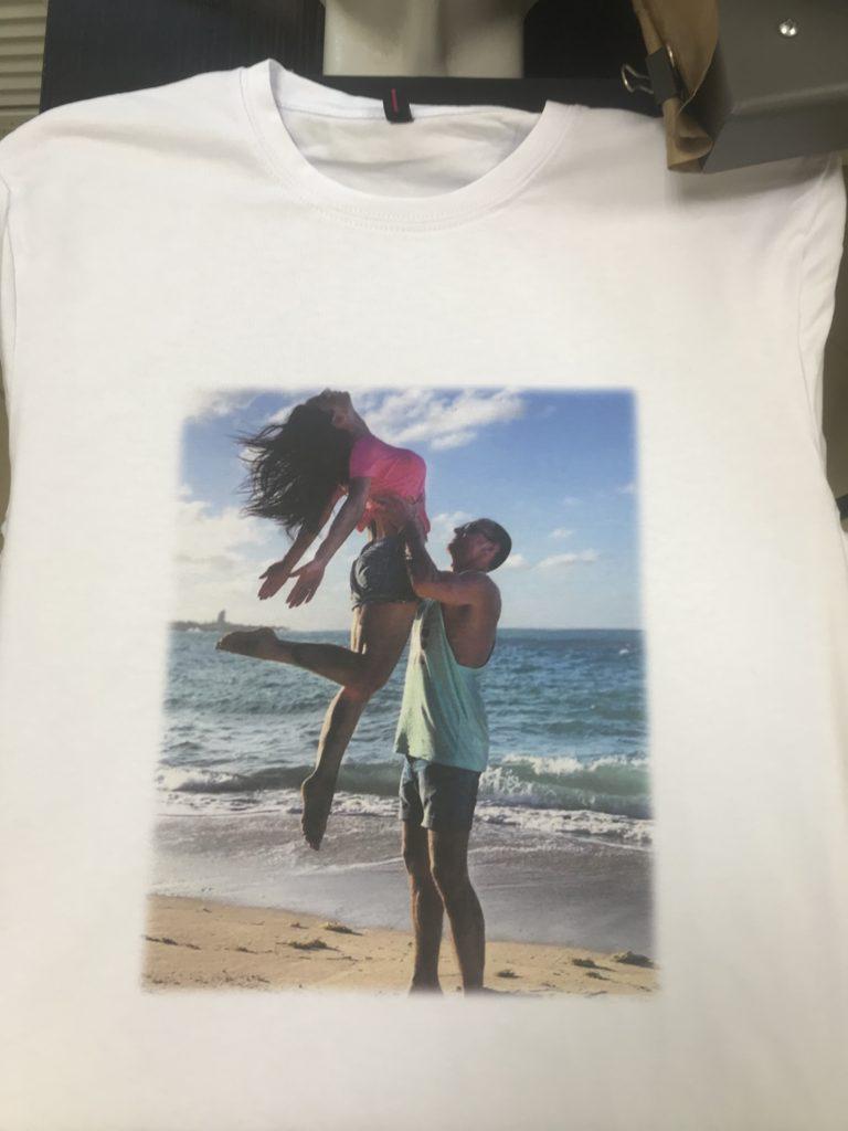 Парная футболка для него