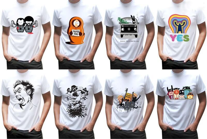 коллекция футболок